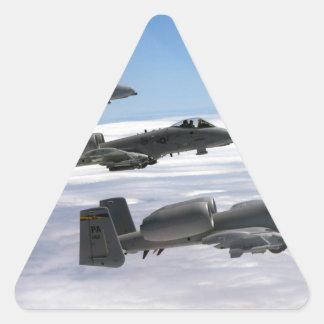 A10 Thunderbolt II Triangle Sticker