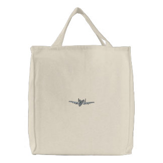 A-10 Thunderbolt Embroidered Tote Bag