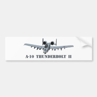 A-10 Thunderbolt II Bumper Sticker