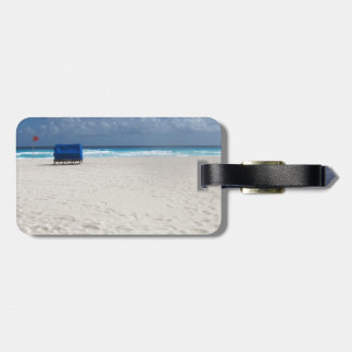 A Beach Chair Awaits Luggage Tag