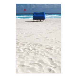 A Beach Chair Awaits Stationery