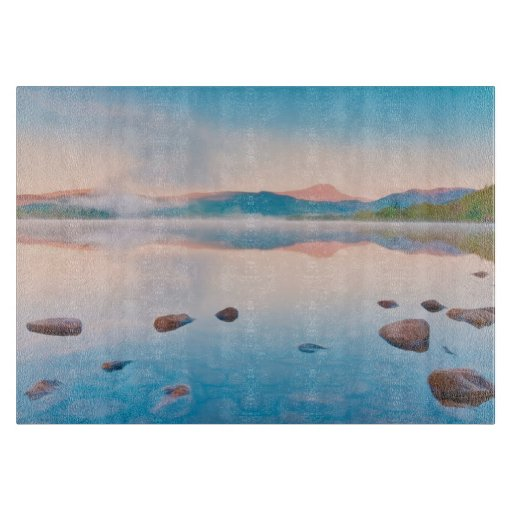 A Beautiful Sunrise On Rannoch Moor Cutting Board