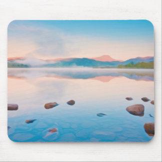 A Beautiful Sunrise On Rannoch Moor Mouse Pad