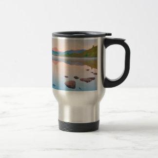 A Beautiful Sunrise On Rannoch Moor 15 Oz Stainless Steel Travel Mug