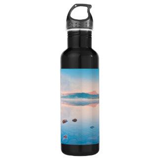 A Beautiful Sunrise On Rannoch Moor 24oz Water Bottle