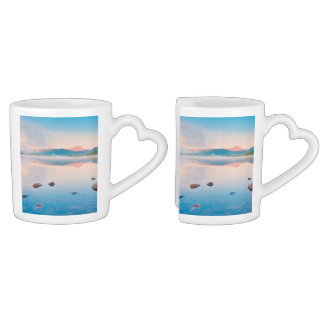 A Beautiful Sunrise On Rannoch Moor Couples Mug