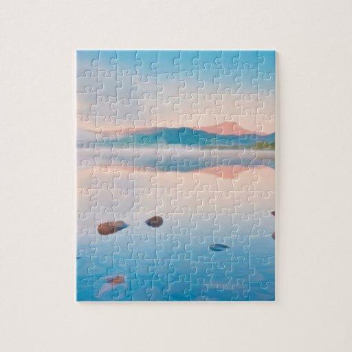 A Beautiful Sunrise On Rannoch Moor Jigsaw Puzzles