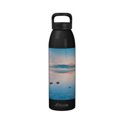 A Beautiful Sunrise On Rannoch Moor Water Bottle