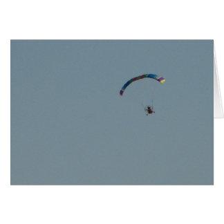 A Bird?  A Plane?  A Parachute? Card