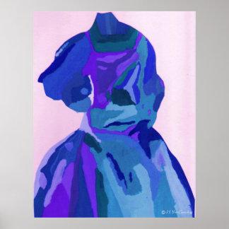 A Boleyn Blue Dress I Poster - Customizable Posters