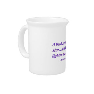 A Book Too Can Be A Star Drink Pitchers