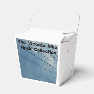 A box design platform for the victoria rock colect wedding favour box