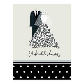 A Bridal Shower Postcard