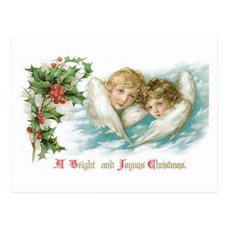 A Bright and Joyous Christmas Postcard
