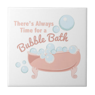 A Bubble Bath Tile