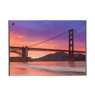 A capture of San Francisco's Golden Gate Bridge Cover For iPad Mini