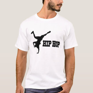 A Casual White T-Shirt For HipHop Loverzzz
