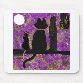 A Cat with a Rat in the Hat Mouse Pad