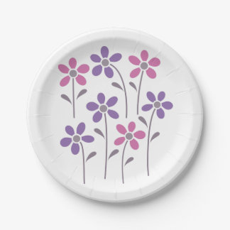 A Child's Garden plates 7 Inch Paper Plate