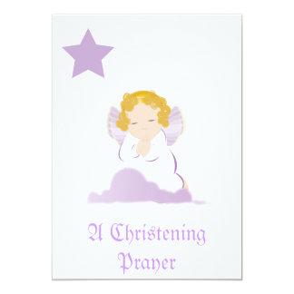 A Christening Prayer Invitation -Customize