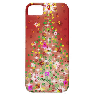 A Christmas tree that glows. iPhone 5 Cover