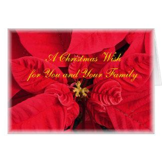 A Christmas Wish Greeting Card