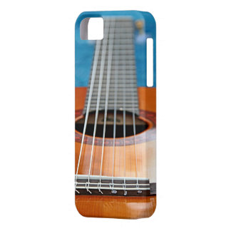A Closeup of Guitar Strings Barely There iPhone 5 Case