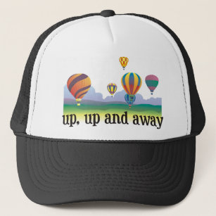 A colourful balloon flying gift - hot Air Balloons Trucker Hat