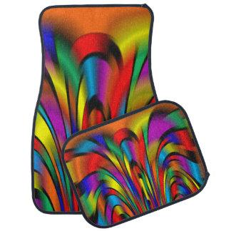A Colourful Integration Car Mats