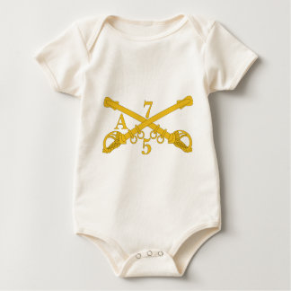 A Company 5th Troop 7th Cavalry Baby Bodysuit