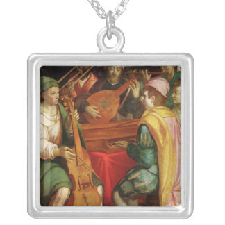 A Concert Silver Plated Necklace