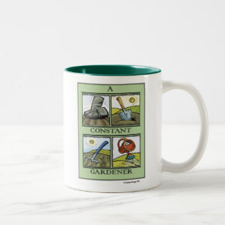 A Constant Gardener Lefty Mug