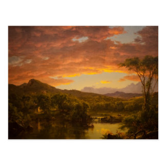 A Country Home by Frederic Edwin Church Postcards