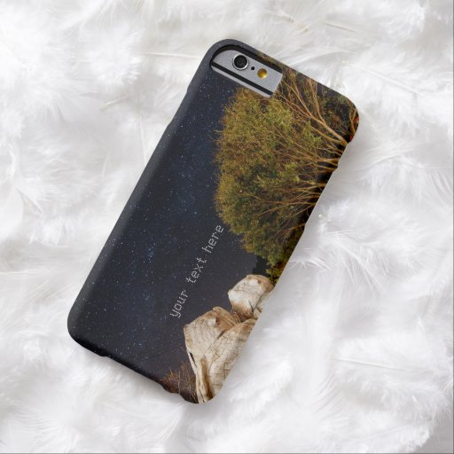 A Couple of Owls in Smangus Tribe under Milky Way Barely There iPhone 6 Case