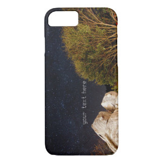 A Couple of Owls in Smangus Tribe under Milky Way iPhone 7 Case