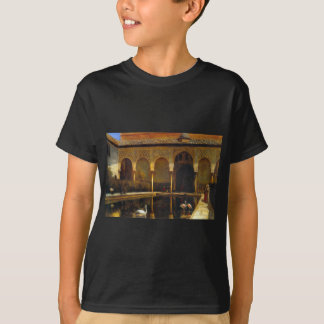 A Court in the Alhambra by Edwin Lord Weeks T-Shirt
