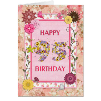 A craftlook 95th birthday card
