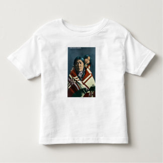 A Crow Indian Madonna and Child T-shirts