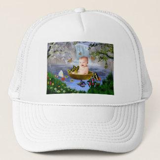 A cute nature trucker hat