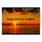 A Day As Beautiful As You Are Daughter Birthday Card