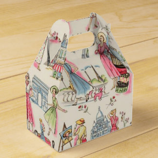A Day in Paris Party Favour Box