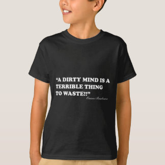 A Dirty Mind Is A Terrible Thing To Waste T-Shirt