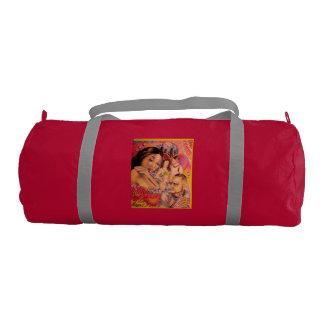 A duffle journey bag