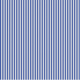 A Elegant Blue and White Nautical Stripes Standing Photo Sculpture