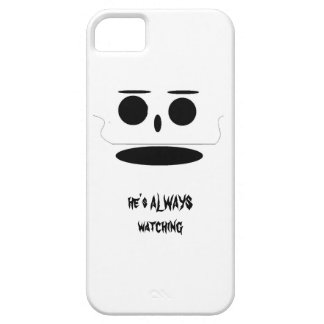 a face staring at you iPhone 5 cases