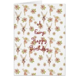 A Fairy Birthday Card