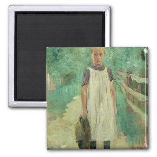 A Farmgirl, 1895 Magnet