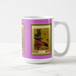 A feast of colour, Folds of flowers Mug