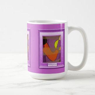 A feast of colour, Red lady Coffee Mug