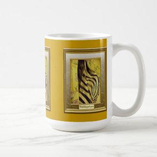 A feast of colour, Zebra stripes Coffee Mug